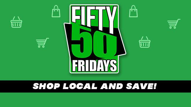 Fifty / 50 Friday Deals