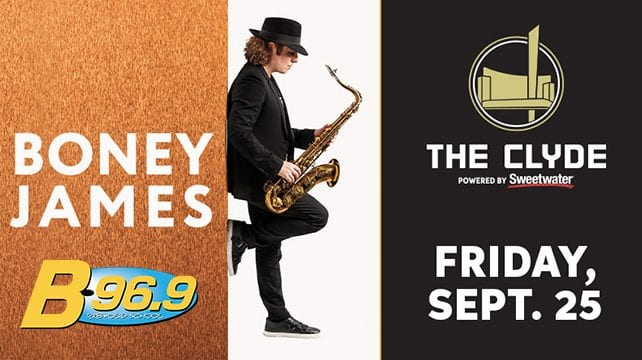 Boney James, Clyde Theatre | September 25th