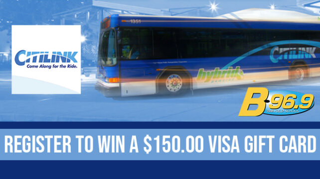 Register to WIN a $150 Visa Gift Card