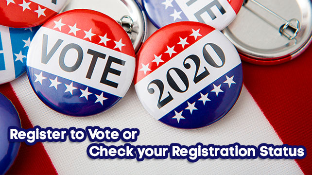 Voter Registration: Check Your Registration and Poll Location